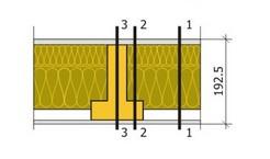 Теплотехнический расчёт конструкции стены