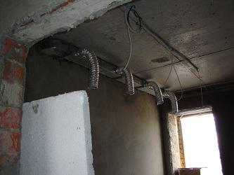 Вентиляция в коттедже п.Дербышы