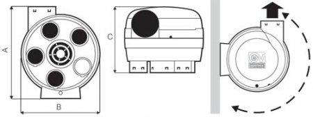 Многозанальные вентиляторы. Vort Penta