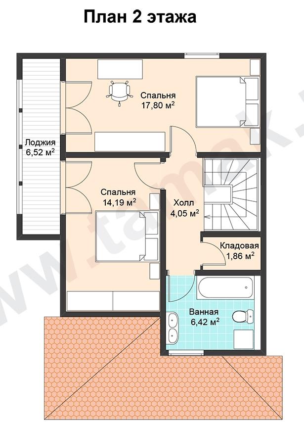 проект дома 7 на 11 план 2 этаж