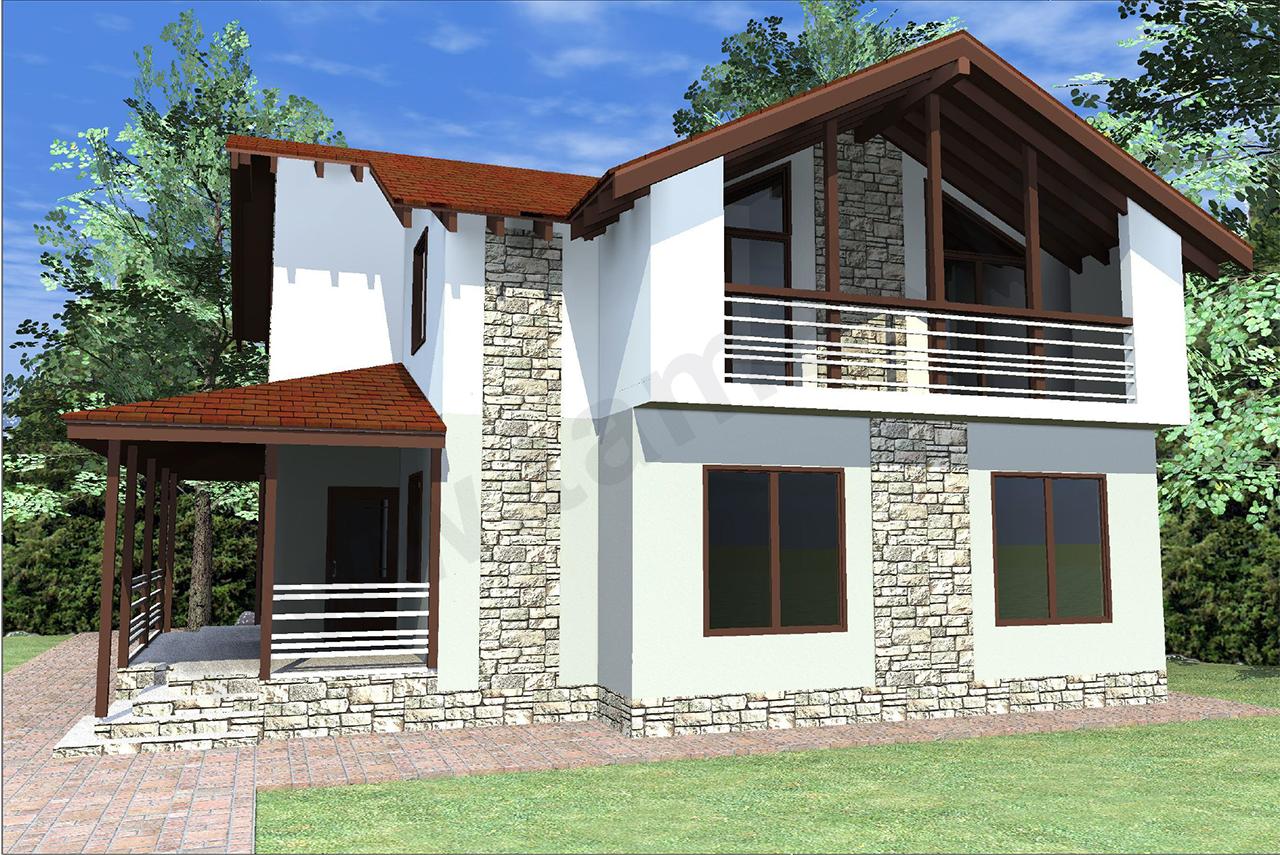 Проект дома 9 на 12