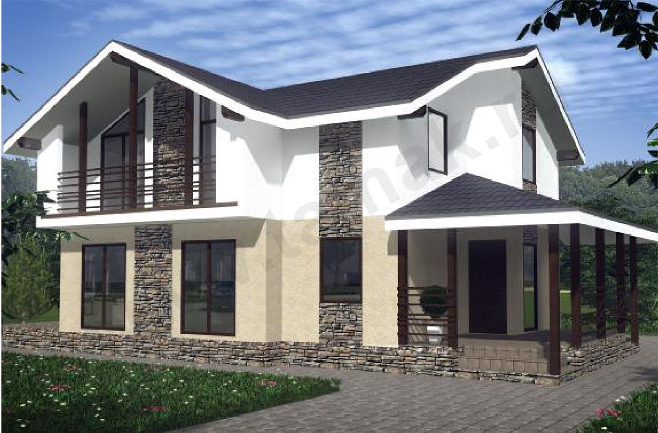 Проект дома 8 на 13