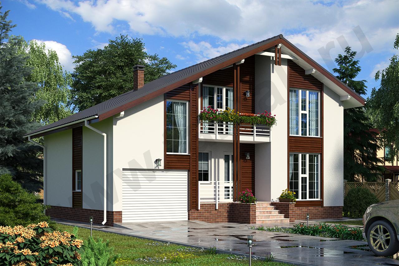 Проект дома Зальцбург ПД-323-1-201