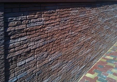 фасадные панели камень